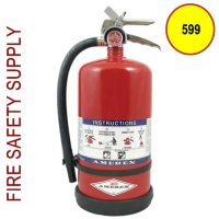 Amerex 599 13 lb. High Performance Dry Chemical Extinguisher