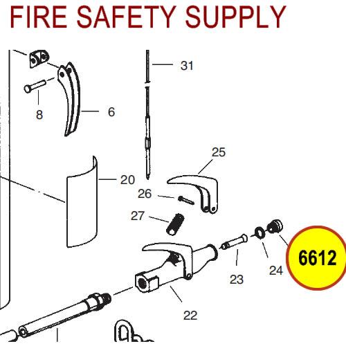 Ansul 6612 Red Line Nozzle Tip