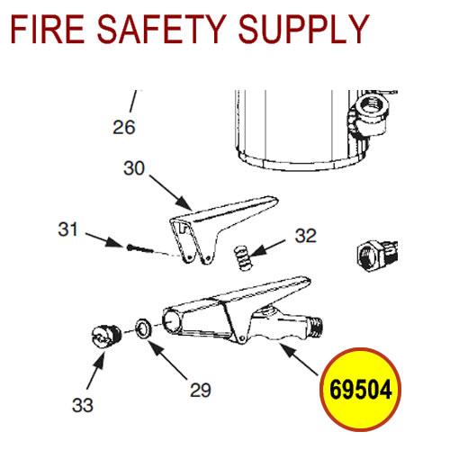 ANSUL REDLINE Tip, Nozzle #69504