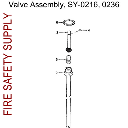 70223 Ansul Sentry Valve Assembly
