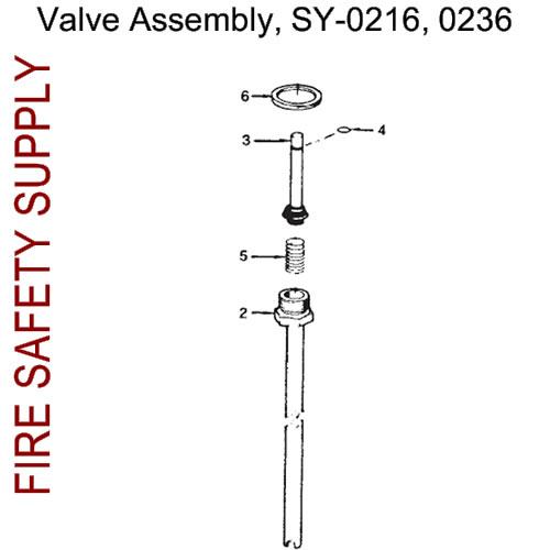 70223 Ansul Sentry Valve Assembly