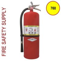 Amerex 760 20 lb. ABC High Flow Dry Chemical Extinguisher