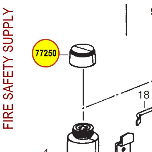 Ansul 77739 Red Line Hose Assembly