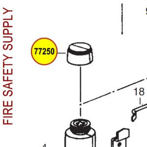 Ansul 77250 Red Line LH Thread Cartridge Shipping Cap