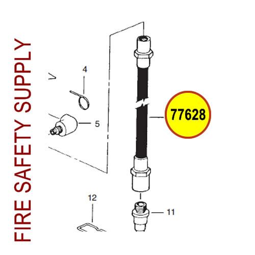 77628 Ansul Sentry Hose Assembly