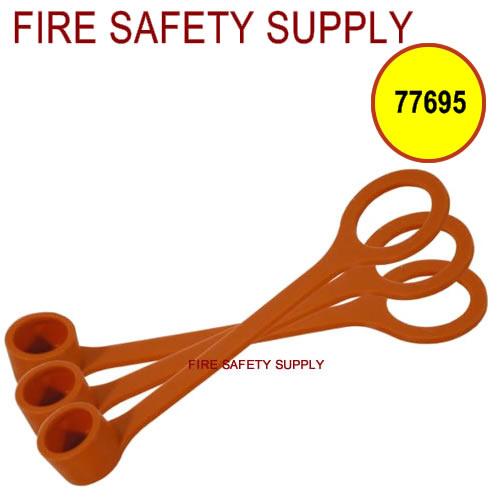 77695 Blow-Off Cap, Rubber, 50/package (pkg. price)