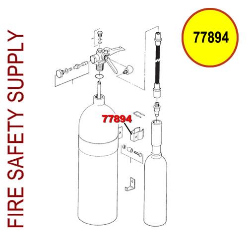 77894 Ansul Sentry Horn Clip