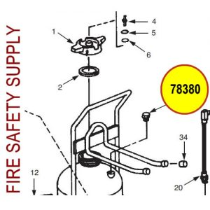 Ansul 78380 Burst Disc Assembly