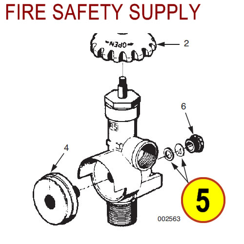 Ansul 78711 Safety Disc and Washer