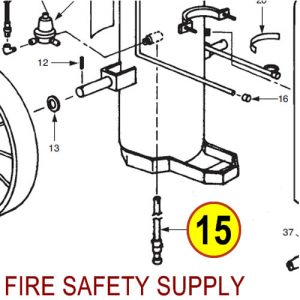 Ansul 78713 150-C Gas Tube Assembly without Cap
