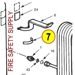 Ansul 79183 Gas Tube Assembly