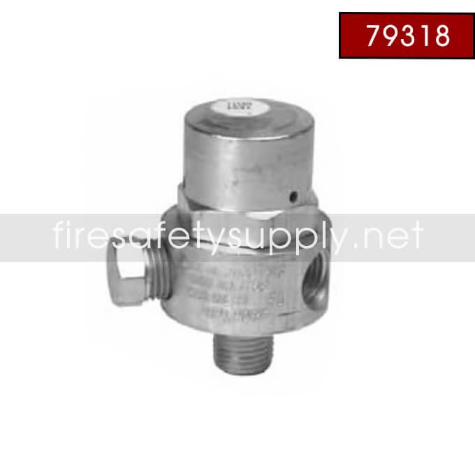 79318 Regulator, 100 PSI, Mini-Bulk, Actuation Pressure