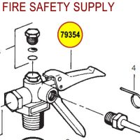 79354 Ansul Sentry Valve Assembly