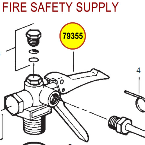 79355 Ansul Sentry Valve Assembly