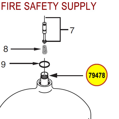 79478 Ansul Sentry Siphon Tube
