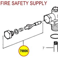 79806 Ansul Sentry Plunger Assembly