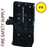 Amerex 810 - 7 Inch Cylinder Diameter Heavy Duty Vehicle Bracket Black