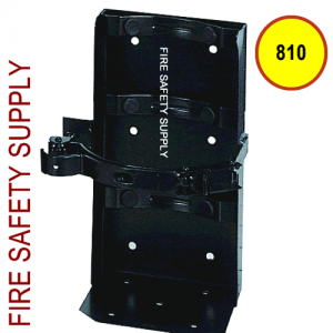 "Amerex 810 7"" Cylinder Diameter Heavy Duty Vehicle Bracket Black"