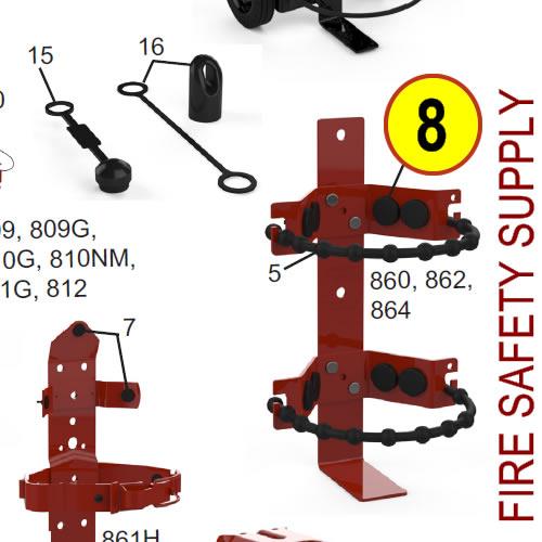 Amerex 811G Heavy Duty 30 lb. Bracket