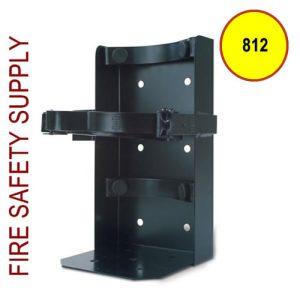 Amerex 812, 6 Inch Cylinder Diameter Heavy Duty Vehicle Bracket Black
