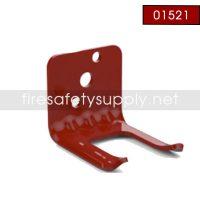 Amerex 1521 Bracket Wall 819 5.0 Aluminum Red