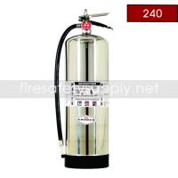 Amerex 240 2.5 Gallon Water Class A Fire Extinguisher