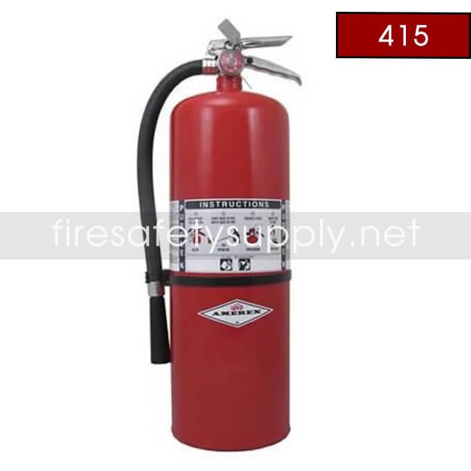 Amerex 415 20 lb. Purple K Dry Chemical Extinguisher