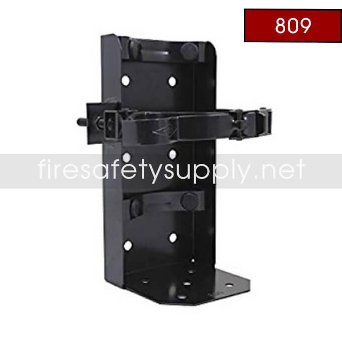 Amerex 809 5 Inch Cylinder Diameter Heavy Duty Vehicle Bracket Black