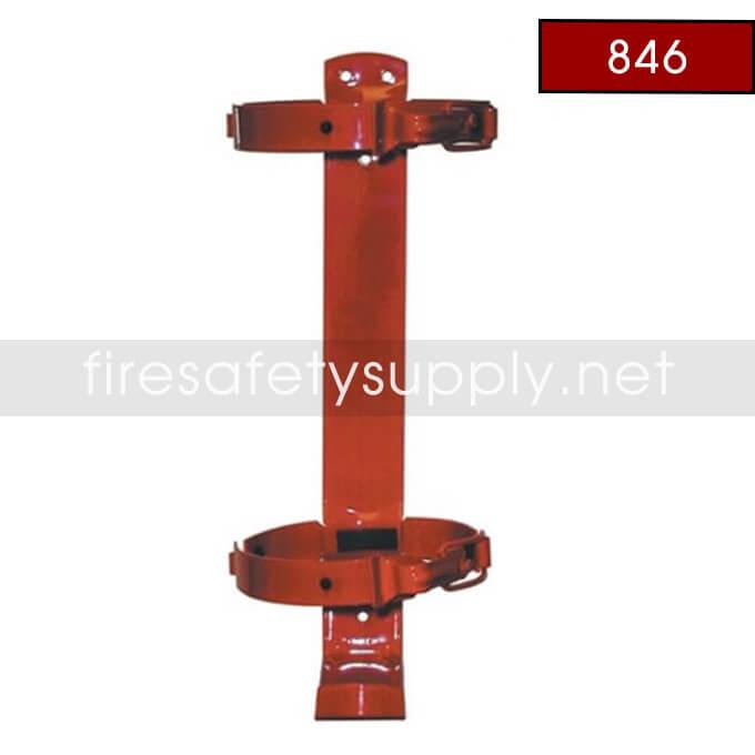 Amerex 846 10 lb. Vehicle/Marine Red Tall Extinguisher Bracket