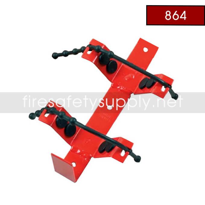 Amerex 864 Heavy Duty Rubber Strap Bracket Red