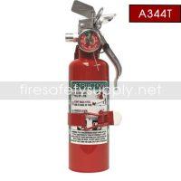 Amerex A344T 1.25 lb. Halon 1211 Clean Agent Extinguisher