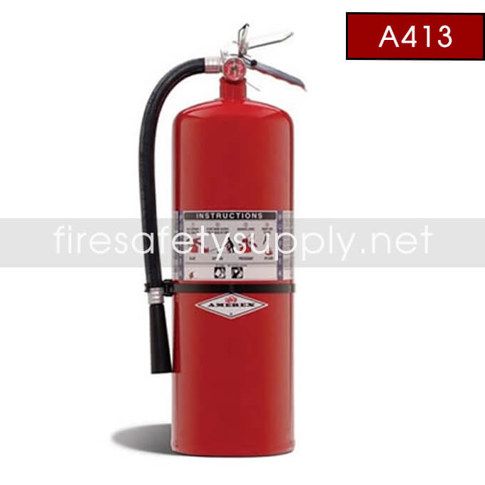 Amerex A413 20 lb. Purple K Dry Chemical Extinguisher