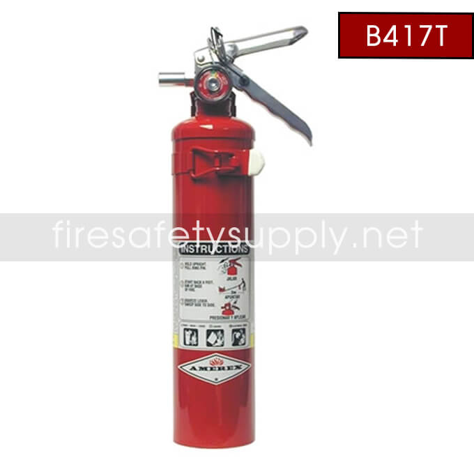Amerex B417T 2.5 lb. ABC Dry Chemical Extinguisher