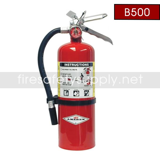 Amerex B500 5lb. ABC Dry Chemical Extinguisher