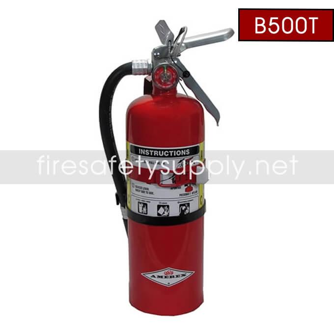 Amerex B500T 5 lb. ABC Dry Chemical Extinguisher