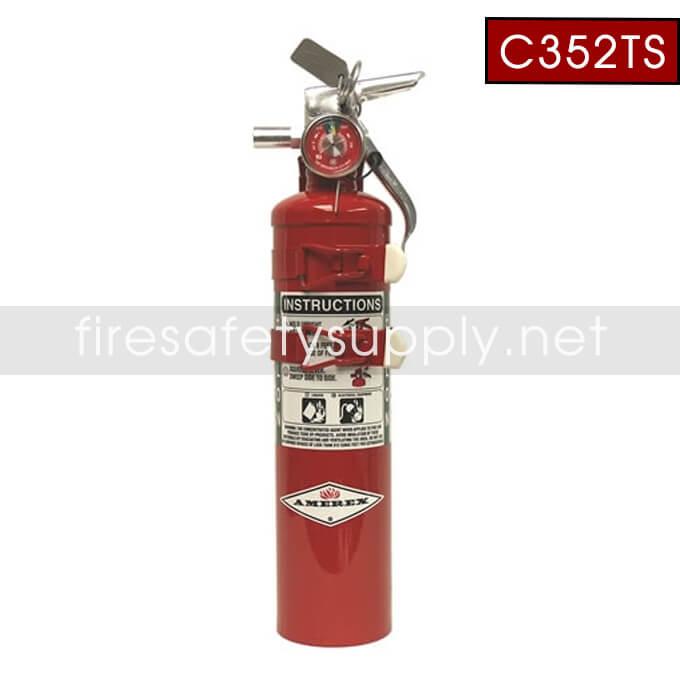 Amerex C352TS 2.5 lb. Halon 1211
