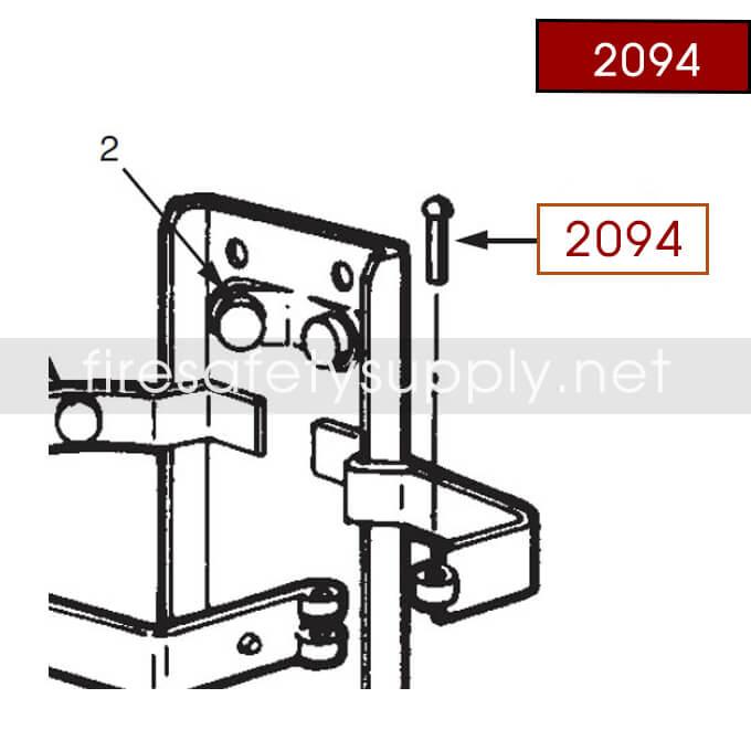Ansul 2094 Red Line Rivet