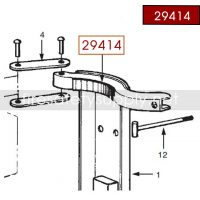 Ansul 29414 Red Line Pad, Clamp Arm
