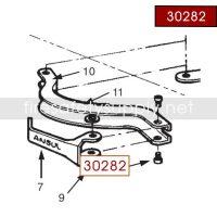 Ansul 30282 Red Line Cap Screw