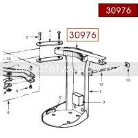 Ansul 30976 Red Line 20/30 lb. Heavy Duty Bracket T-Bolt Assembly
