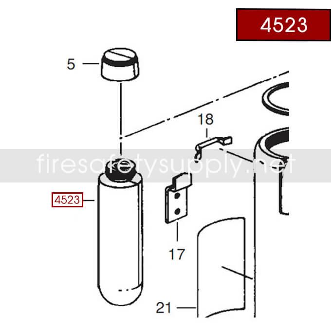 Ansul 4523 Red Line Cartridge