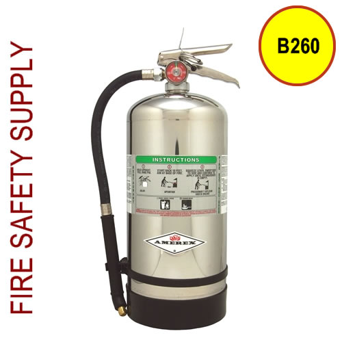 Amerex B260 6 Liter Wet Chemical Extinguisher