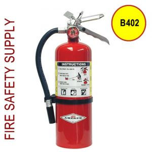 Amerex B402 5 lb. ABC Dry Chemical Fire Extinguisher