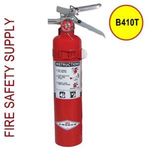 Amerex B410T 2.5 lb. Purple K Dry Chemical Extinguisher