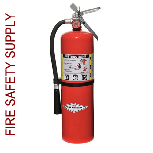sc 1 st  Fire Safety Supply & Amerex B456 10 lb. ABC Dry Chemical Extinguisher