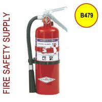 Amerex B479 5 lb. Purple K Dry Chemical Extinguisher