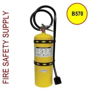 Amerex B570 30 lb. Class D Dry Powder Extinguisher