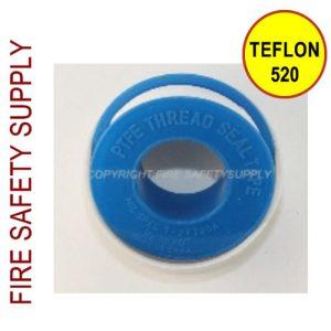 TEFLON520 Teflon Tape 520 x 1/2 Inch