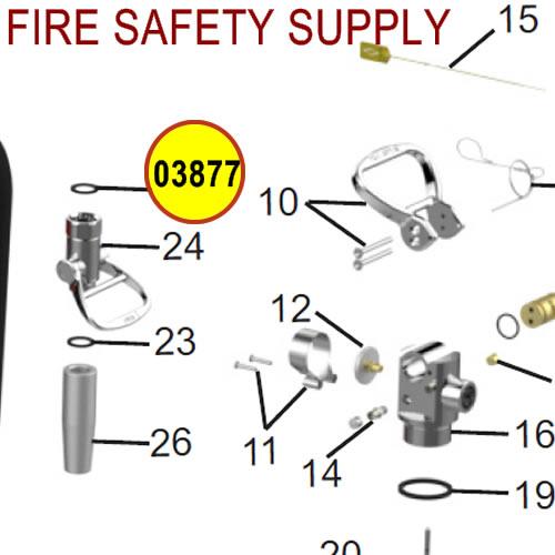 Amerex 03877 Gasket Hose/Nozzle