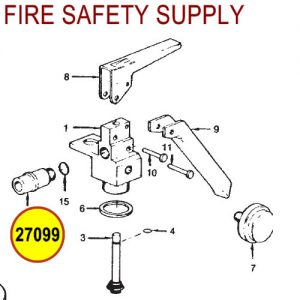 Ansul 27099 Sentry Nozzle Tip Assembly